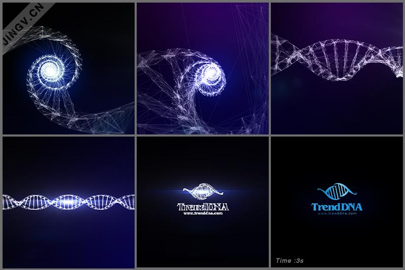 DNA 3s logo演绎